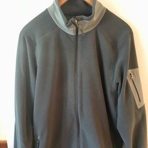 Marmot Men's Gray Zip Fleece Jacket XL